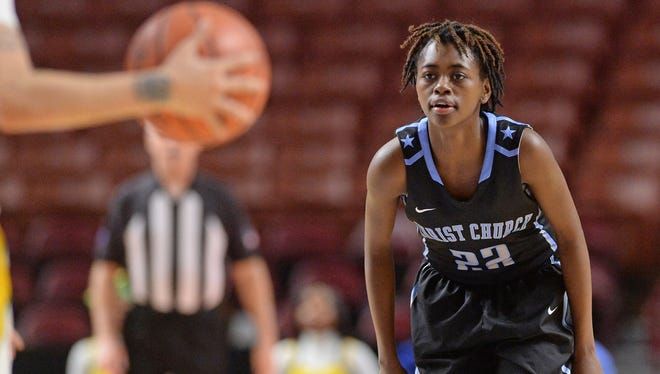 Shayla Bennett's leadership and unselfishness have helped her teammates develop around her at Christ Church. The Cavaliers will play for a second straight state title Saturday against Timmonsville.