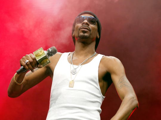 Snoop Dogg performs in Detroit July 5.