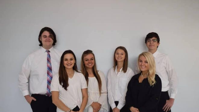 Lake High School student entrepreneurs started their business ColorWall in the fall as part of the Junior Achievement program. ColorWall finished second place in the yearlong competition that featured other student-ran busiensses from high schools in Stark, Summit and Medina counties.