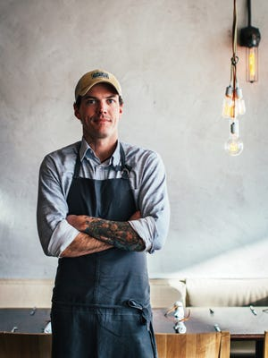 Chef Matt McCallister works with local farmers who grow specific crops for use in his Dallas restaurants.