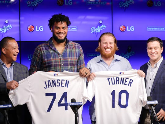 """These guys are so honest with me,"" closer Kenley Jansen"