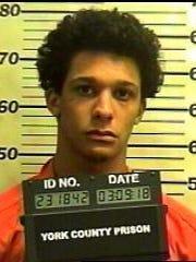 Jordan Neibert, pictured in a March 2018 mugshot.