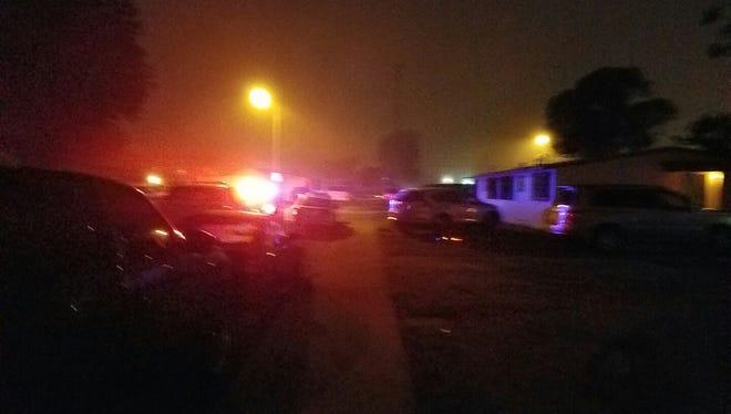 A man was killed Monday night in Oxnard.