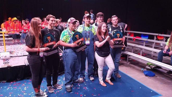 The Sun River RedNek Robotics Team and its allies are world robotics champions.