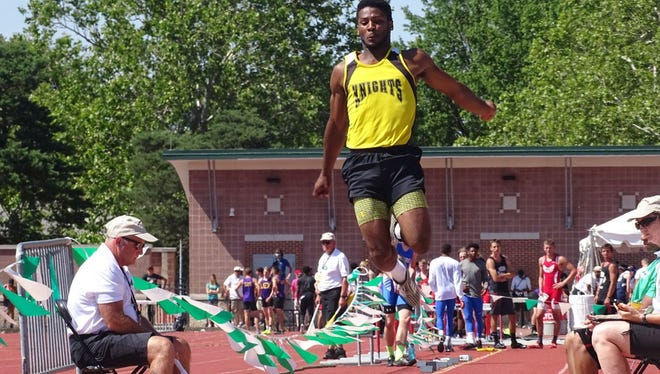 Demetrius Johnson, a two-time state long jump champion, soared 23-5.75 last week to win at the Mount Gilead Invitational.