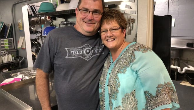 """David and Rhonda Pearcy are co-founders of Fork Real Café, a """"pay-what-you-can"""" café in Rapid City, South Dakota, that is a recipient of a 2018 A Community Thrives grant from USA Today/Gannett."""