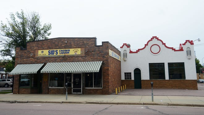 The former Sid's Crown Liquor on 1st Ave in downtown Sioux Falls is available to lease.