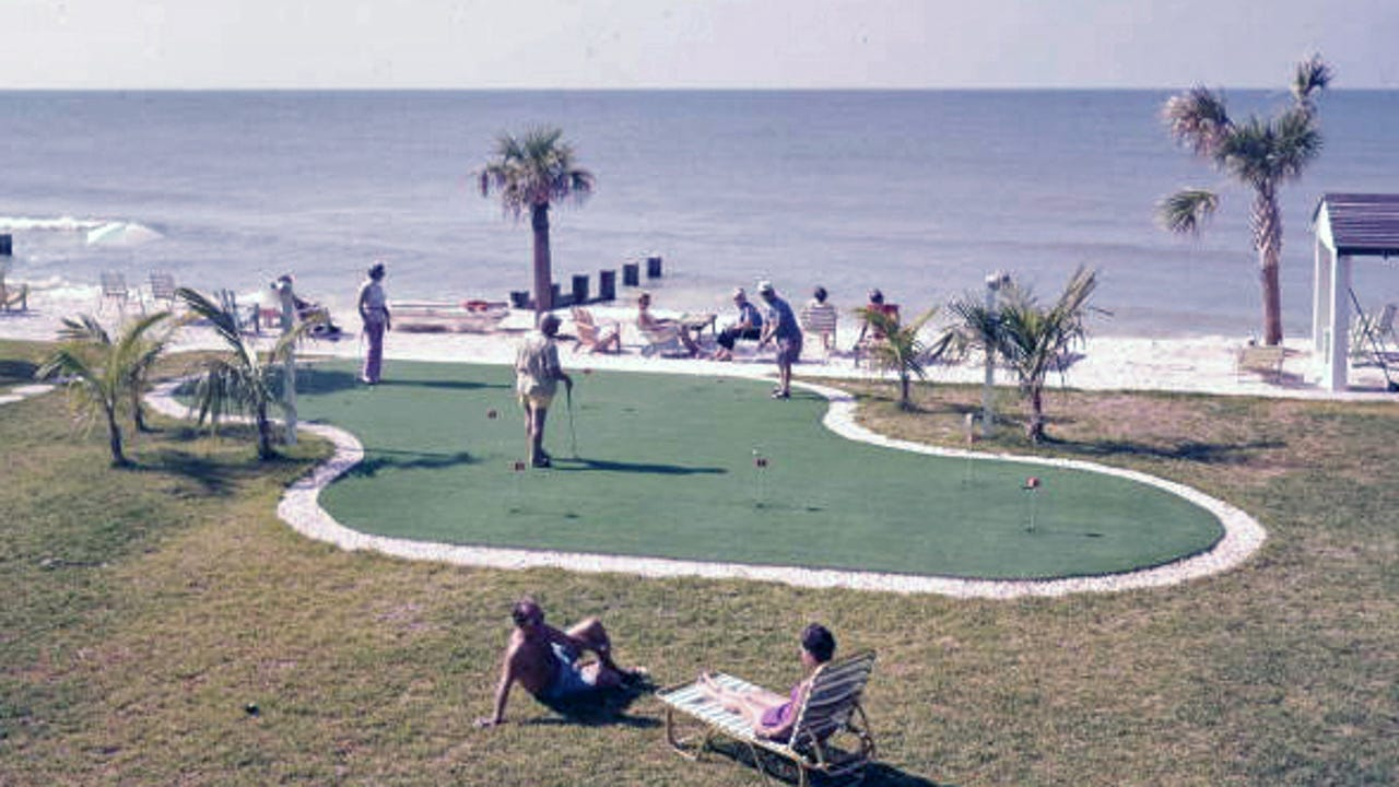 Golf is central to Florida's identity and in fact may have originated here. LISA BROADT/TCPALM