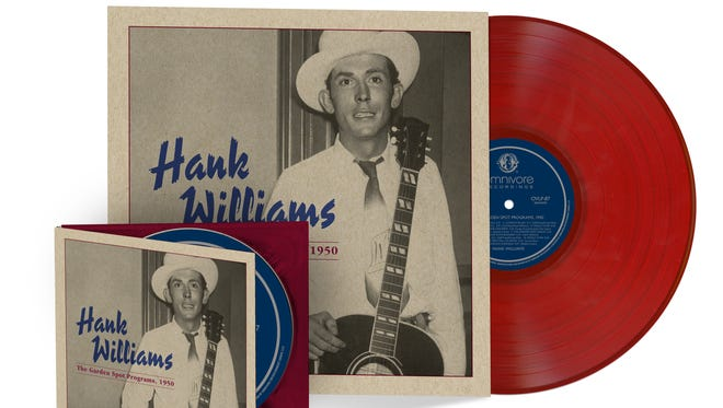 """""""The Garden Spot Records, 1950,"""" out May 20 on Omnivore Records, is a set of previously unheard radio performances from Country Music Hall of Famer Hank Williams."""