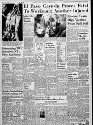 Sports page for March 8, 1966.