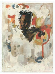 Jeff Donaldson   Study for Wall of Respect [Miles Davis],