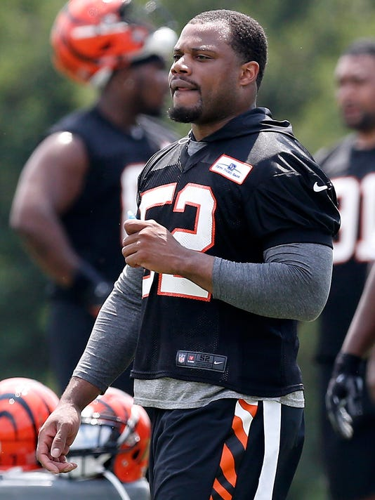 sale retailer 46198 061f8 Bengals' Marvin Lewis: LB Preston Brown 'exceeding expectations'