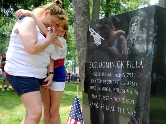 Dominick Pilla headstone Vineland NJ