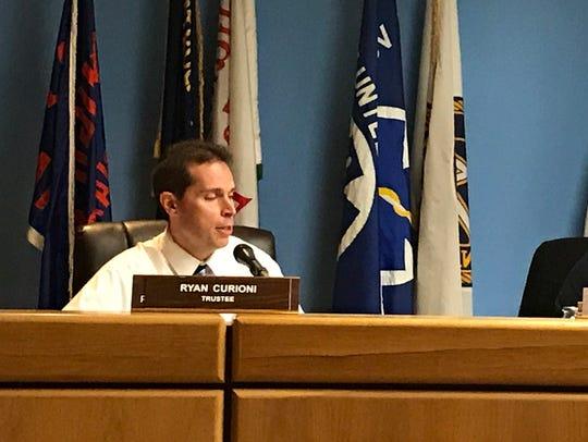 Lodi Board of Education member Ryan Curioni