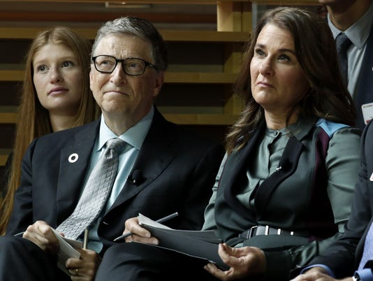 AP OBAMA GATES FOUNDATION A F USA NY