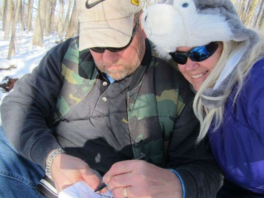 West Bend offers many winter-friendly locations for geocachers.