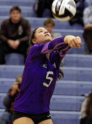 Senior libero Bridget Javitch is among a strong group of returnees for the DeSales girls volleyball team, which won the Division I state title last season.