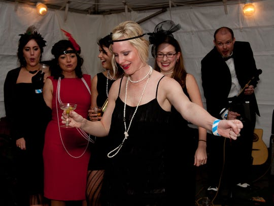 "Attire is ""flapper"" for the F. Scott and Zelda Fitzgerald Museum Gala on Saturday."
