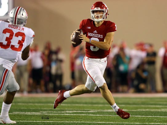 Peyton Ramsey's legs give the Hoosiers an added dimension