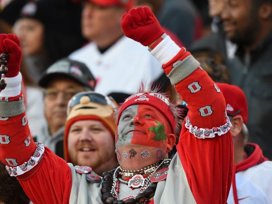 Ohio State fans were well represented Saturday at Capital One Field in College Park, Maryland.
