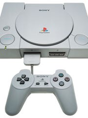 The original Sony PlayStation video game system went