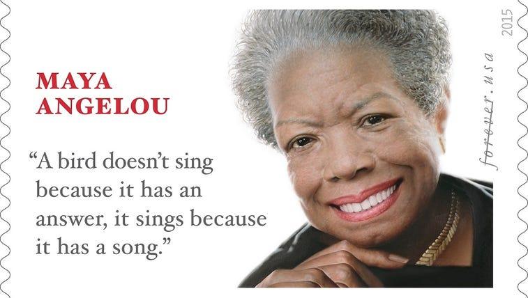 Dr. Maya Angelou Forever Stamp