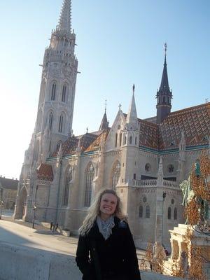 Kennedy Dohm in Budapest.