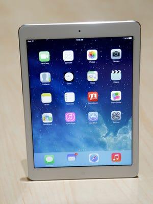 An iPad Air from 2013.