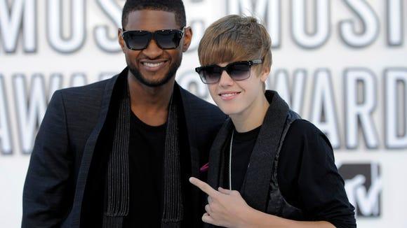#TBT: Usher and Justin at the 2010 VMAs.