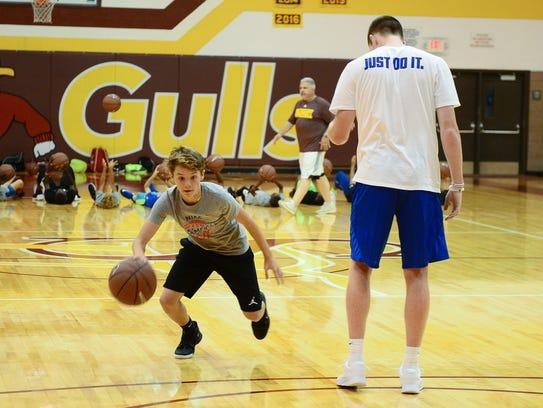 Nike Boys Basketball Camp at Salisbury University led