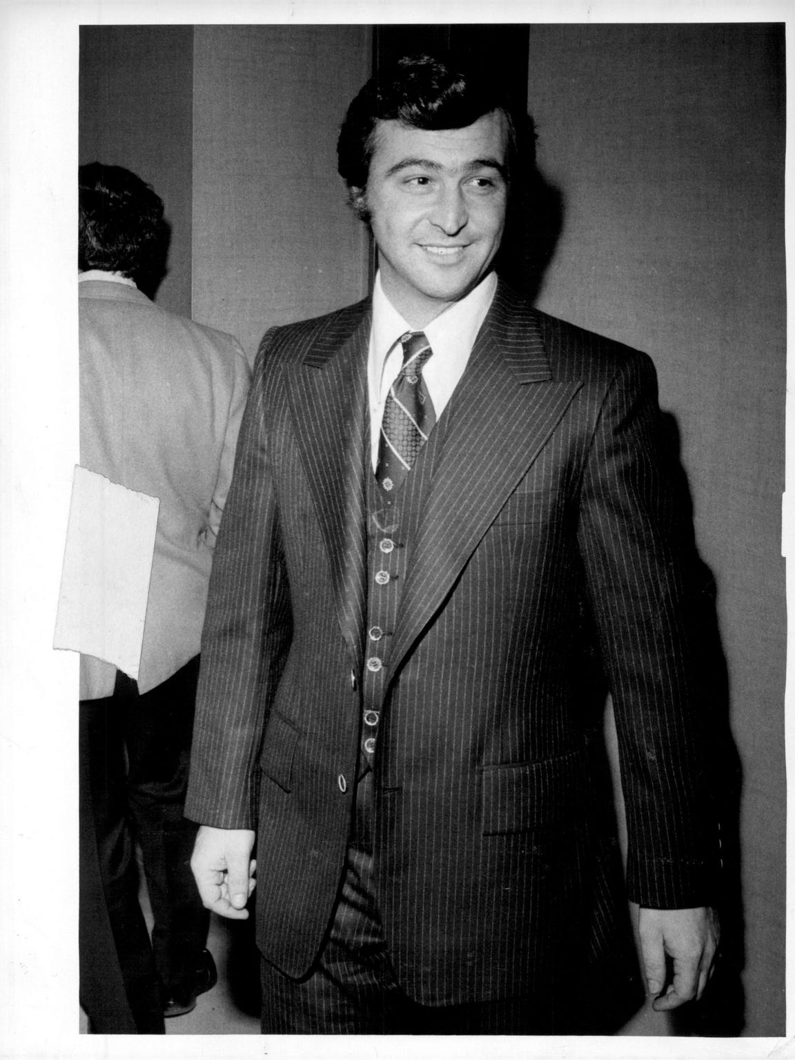 "Salvatore ""Sammy G."" Ginegello from a trial in 1976."