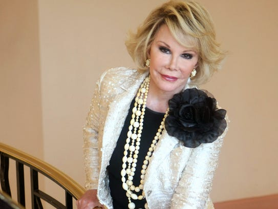 FILE - This Oct. 5, 2009, file photo shows Joan Rivers