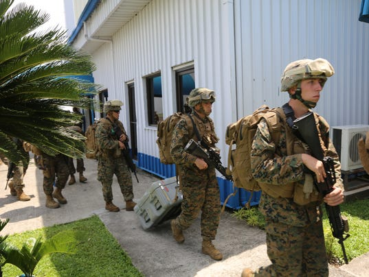 31st MEU Embassy Reinforcement at PHIBLEX 15