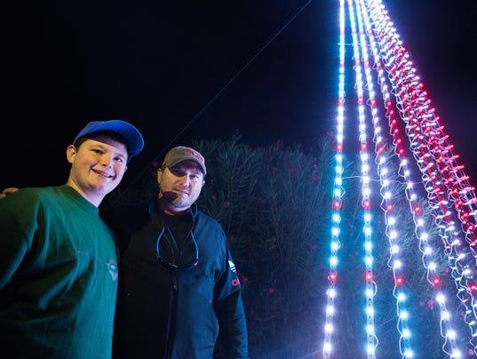 Bower Christmas Lights for Chavez