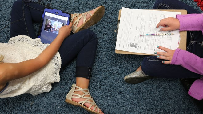 Wilder Elementary was one of the first Springfield schools to receive new technology during the 2015-16 school year