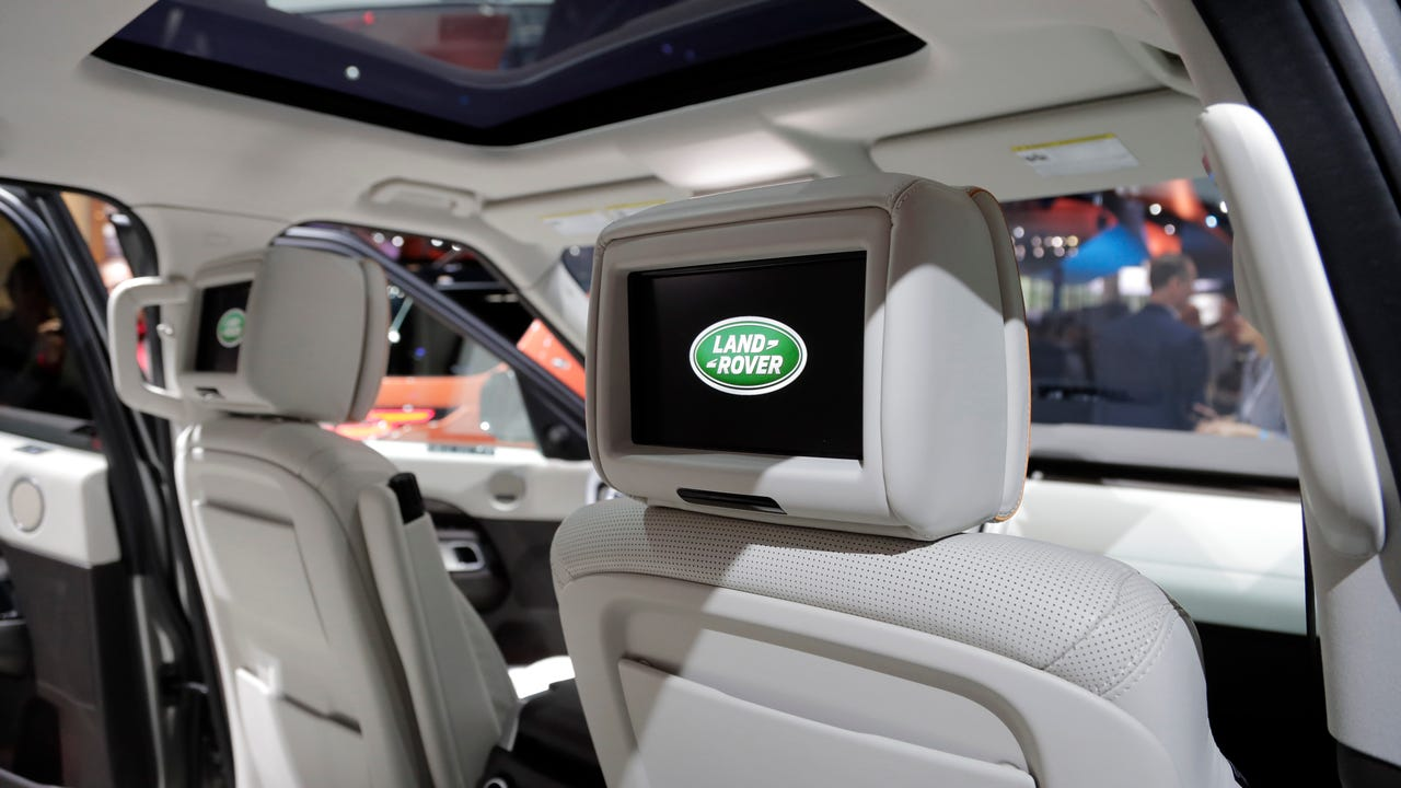 Seats with a mind of their own: Land Rover's new intelligent seats