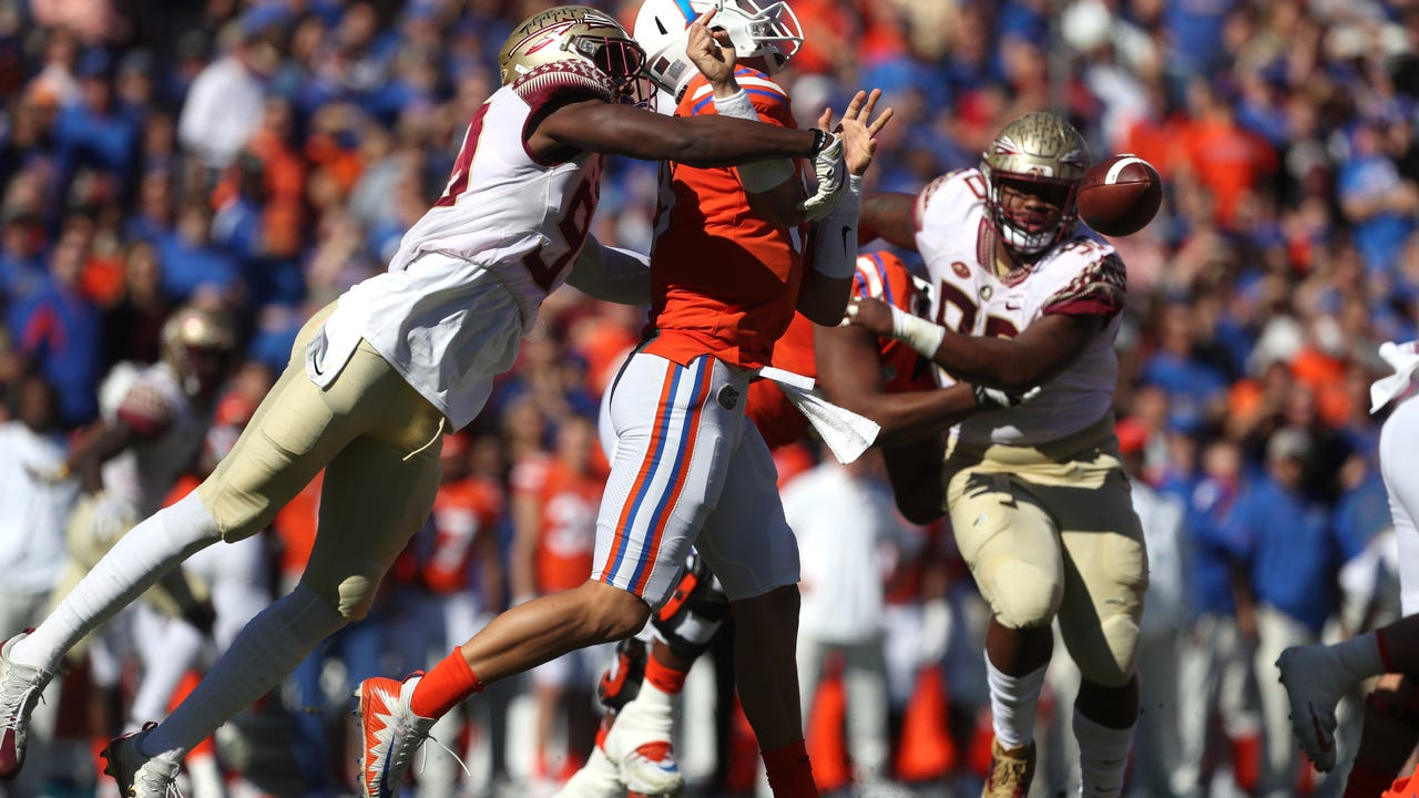 Watch it: FSU DE Brian Burns talks win over Florida