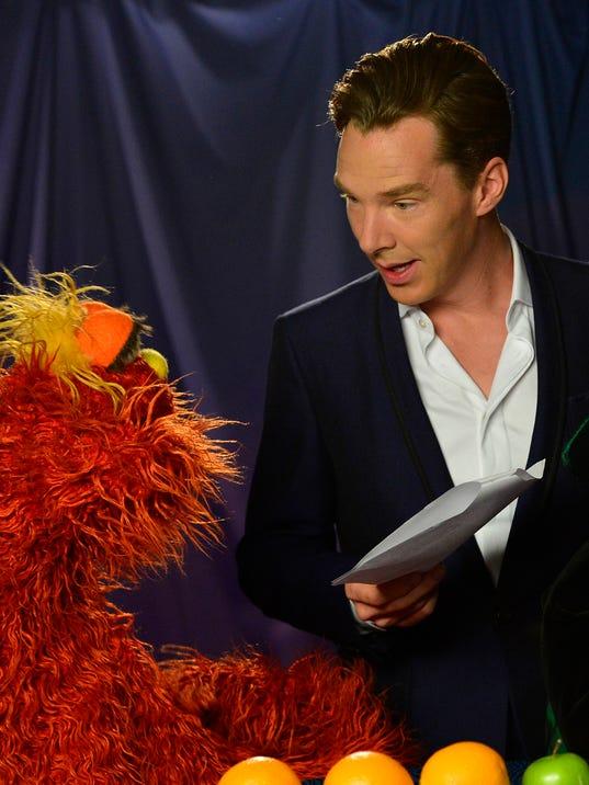 AP TV-Sesame Street-Cumberbatch