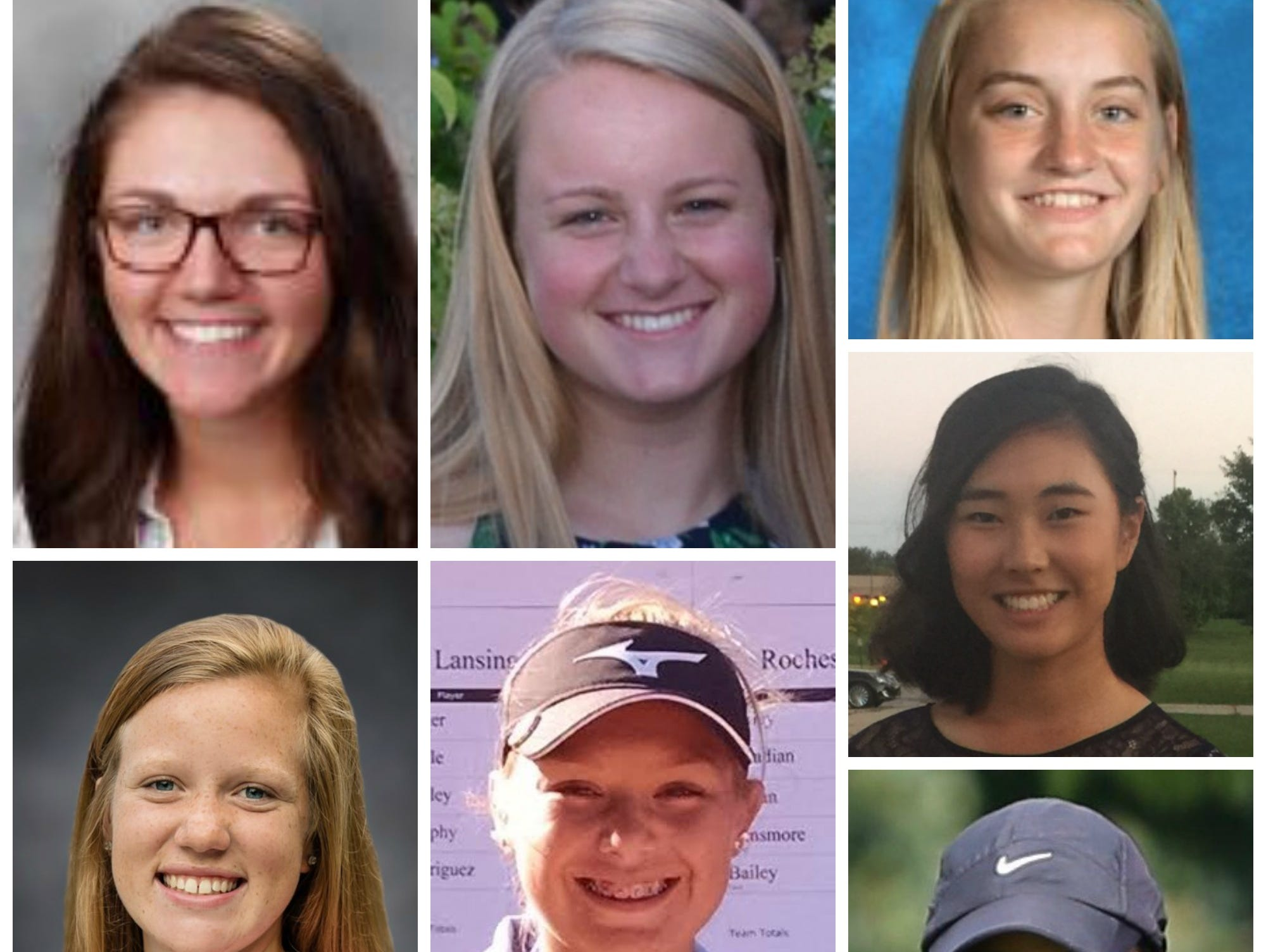 Meet the Lansing State Journal girls golf Dream Team.