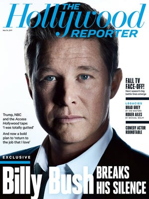 Billy Bush on the cover of 'The Hollywood Reporter.'