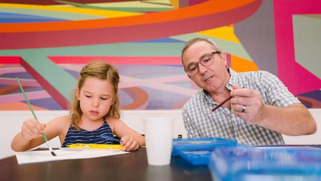 Enjoy creativity with your child this weekend at Saturday Morning Art (smART) at the Boca Raton Museum of Art.