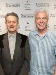 Jonathan Demme and Talking Heads frontman David Byrne