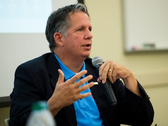 State Rep. Joel Robideaux, a candidate for Lafayette
