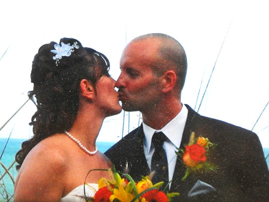 Pete and Stacey Pavenski met in 2002 while they were stationed at Moron Air Base inSpain, and they married in 2010,