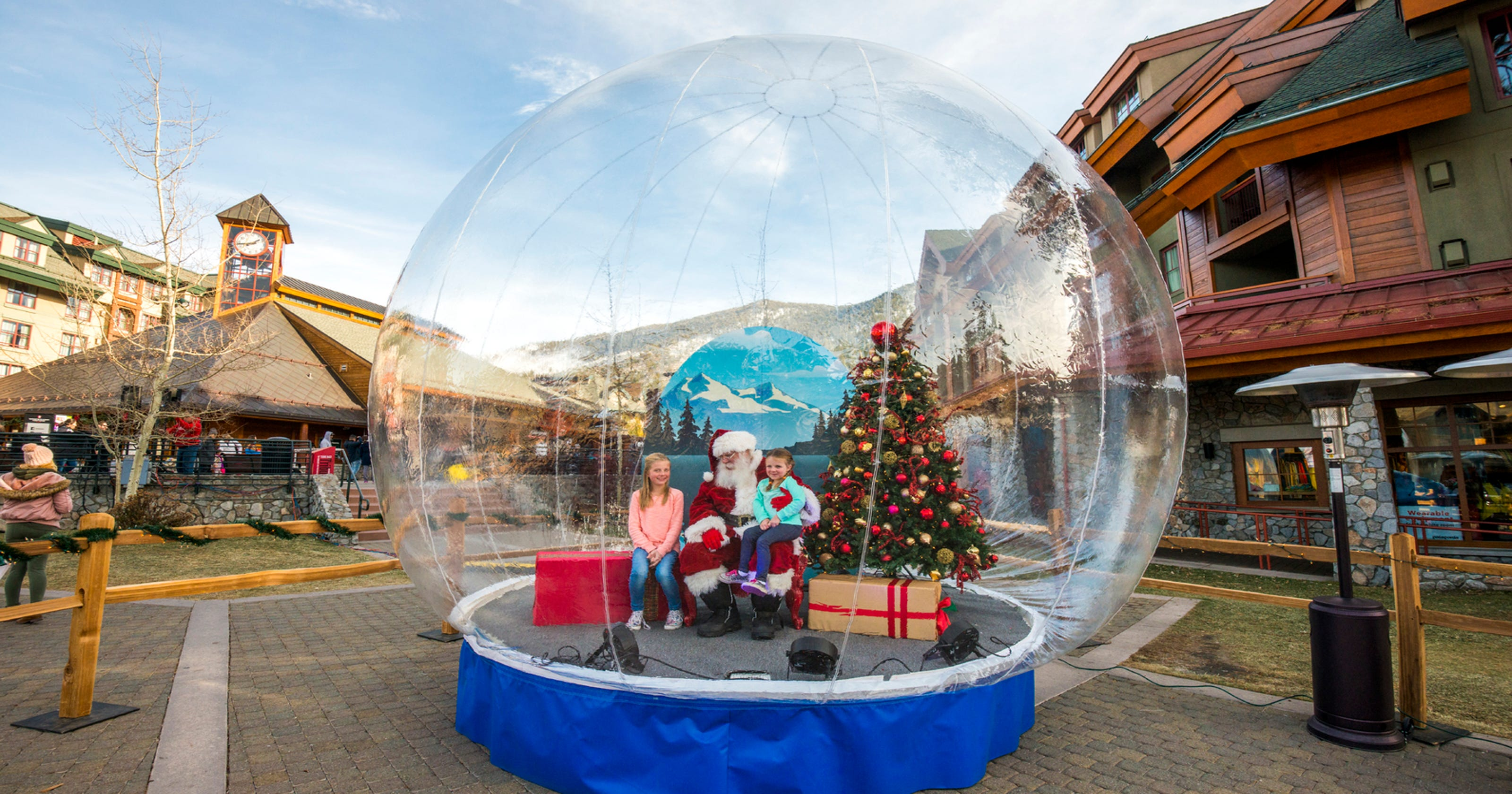 Christmas In Lake Tahoe.Things To Do In The Winter In South Lake Tahoe Besides Skiing
