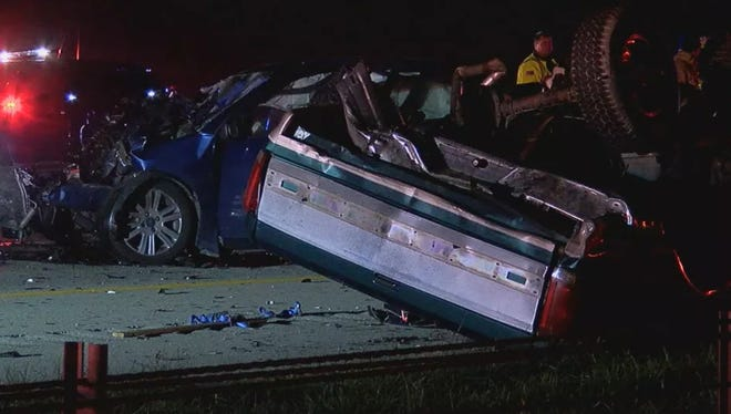 The crash happened on southbound Interstate 275 near Milford Parkway and Eastgate exits.