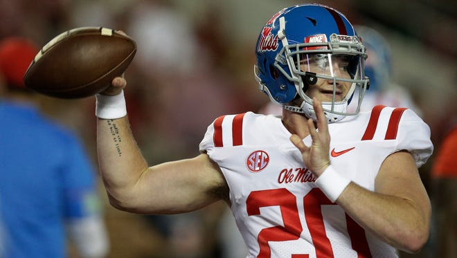 Shea Patterson was the No. 1 quarterback prospect in the 2016 recruiting class.