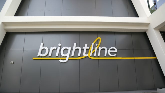 Brightline debuted its West Palm Beach station May 23, 2017.