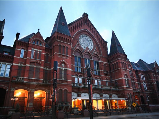 Cincinnati's Music Hall dates to 1878 and is a National
