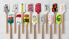 Celebrities have designed the cutest line of Williams-Sonoma spatulas for No Kid Hungry